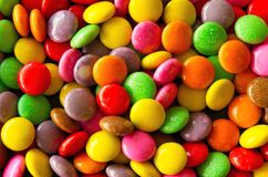 Background of colorful sprinkles Stock Images