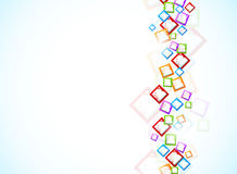 Background with colorful squares Royalty Free Stock Image