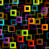 Background with colorful squares Stock Photo