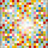 Background - Colorful Squares. Retro Abstract Vector Background - Colorful Squares vector illustration