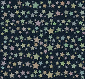 Background with colorful stars Royalty Free Stock Photo