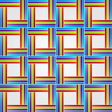 Background with colorful stripes Royalty Free Stock Image