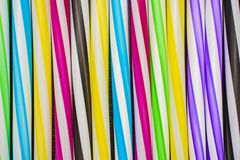 Background of colorful tubules royalty free stock images