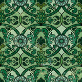 Background. Colorful vintage background in green tones Stock Photos