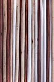 Background colorful wooden sticks Royalty Free Stock Photo