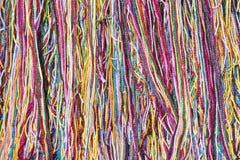 Background of Colorful Yarn Stock Image