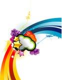 Background colors illustration Stock Photo