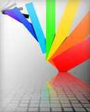 Background colors of the rainbow Royalty Free Stock Image