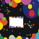 Background : coloured circles Royalty Free Stock Photo