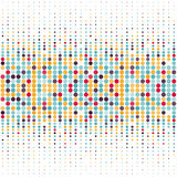 Background with the coloured circles in a vector Royalty Free Stock Photos