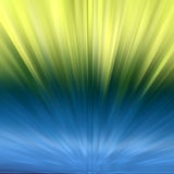 Background - coloured explosion. Blue and yellow background Stock Illustration