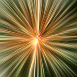 Background - coloured explosion. Green and orange background Stock Illustration