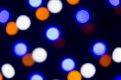 Background: Coloured Leds Bokeh Stock Photography