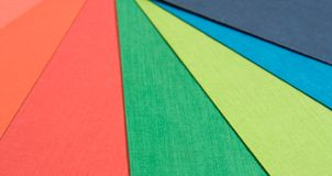 Background of coloured paper Royalty Free Stock Photo