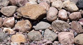 Background Coloured Rock Royalty Free Stock Photography