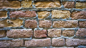 Coloured stone bricks as background Stock Photos
