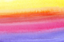 Background - colourful watercolor painting Stock Images