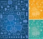 Background communication Stock Image