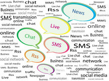 Communication Online Royalty Free Stock Images