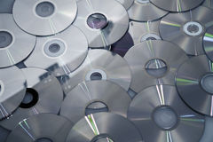 Background from compact disks Stock Images