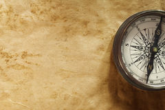 Background with compass Royalty Free Stock Photos