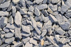 Background composed of gray stones of a mountain. Path royalty free stock images