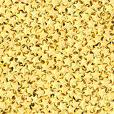 Background composed of many golden Royalty Free Stock Photography