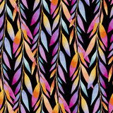 Background composed of multicolored Lean in watercolors Stock Image