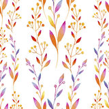 Background composed of multicolored Lean in watercolors Royalty Free Stock Photography