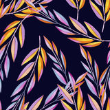 Background composed of multicolored Lean in watercolors Royalty Free Stock Image