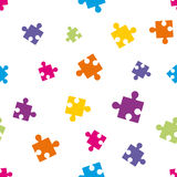 Background composed of puzzle pieces Stock Photography