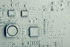 Background  computer electronics chip Royalty Free Stock Photography