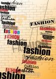 background computer fashion imitation screen Στοκ Φωτογραφίες