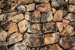 Background stone wall. Background  Concatenation old stone wall Stock Photos