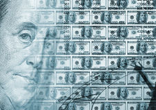 Background concept - Time money Stock Photography