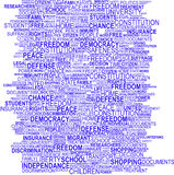 Background concept wordcloud Stock Photo