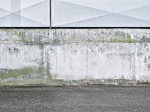 Background, concrete, gray, white, metal Royalty Free Stock Photo