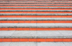 Background of concrete stairs Stock Photography