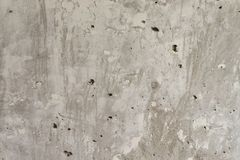 Horizontal background. Concrete wall. Unpainted wall. Concrete gray wall. Background. Concrete wall. Unpainted concrete wall. Texture. Horizontal background Royalty Free Stock Photo