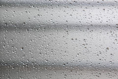 Background with condensation glass. Royalty Free Stock Images