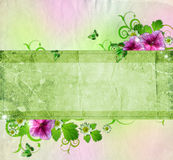 Background for congratulation card Royalty Free Stock Photography