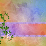 Background for congratulation  card Stock Images