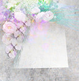 Background for congratulation card Royalty Free Stock Image
