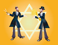 Background for congratulation of Lag Ba-Omer. Shavuot marks the offensive of new season of year Stock Images