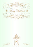 Background for congratulations on Christmas Royalty Free Stock Photo