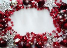 Background for congratulations happy new year and merry chrisrmas royalty free stock photography