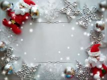 Background for congratulations happy new year and merry chrisrmas stock photography