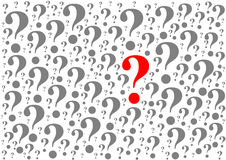 Background consisting of question marks Royalty Free Stock Image