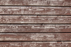 Background consisting of weathered  brown boards Stock Photography