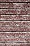 Background consisting of weathered reddish brown boards Royalty Free Stock Photography